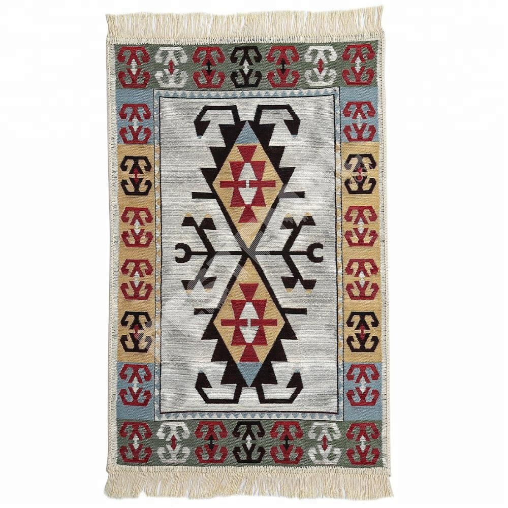 Eco-Friendly Tigh-Woven and Compact Kilim Rugs from Turkish Trusted Manufacturer | Traditional Snazzy Kilims Carpets %100 Cotton