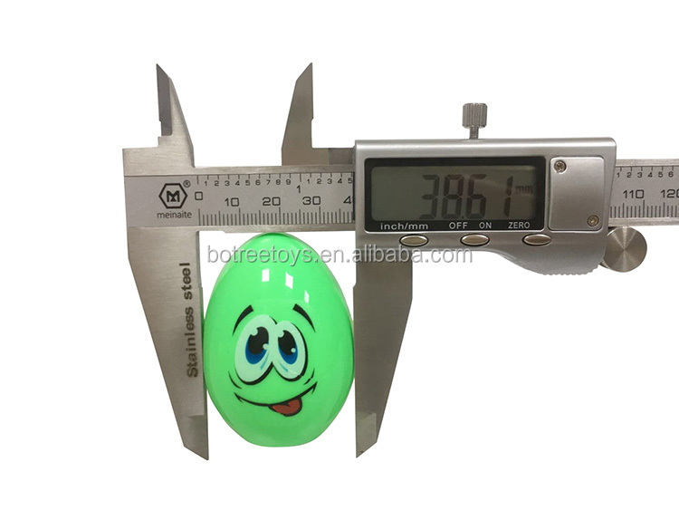 Funny Cartoon Egg Man Empty Candy Toy with Tattoo Sticker