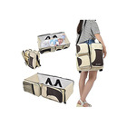 Baby 3 in 1 Diaper Bag Multifunction Folding Travel Crib Newborn Baby Bag Portable Cot Bed Bag with Waterproof