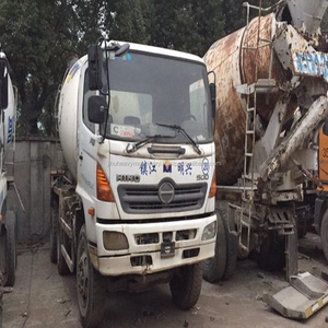 Low price construction concrete machinery HINO 500 used mixer truck for sale