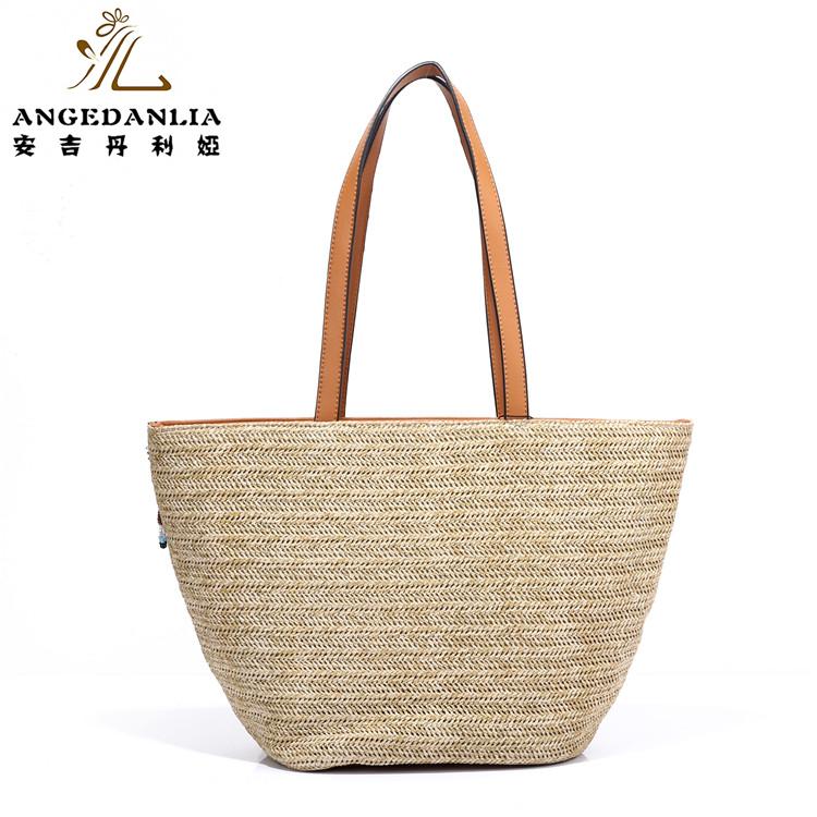 European Market Basket Straw Tote Beach Bag Women Handbag New Model Handbags Product On Alibaba