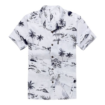Hawaiian Aloha Shirt for Men with Custom Print