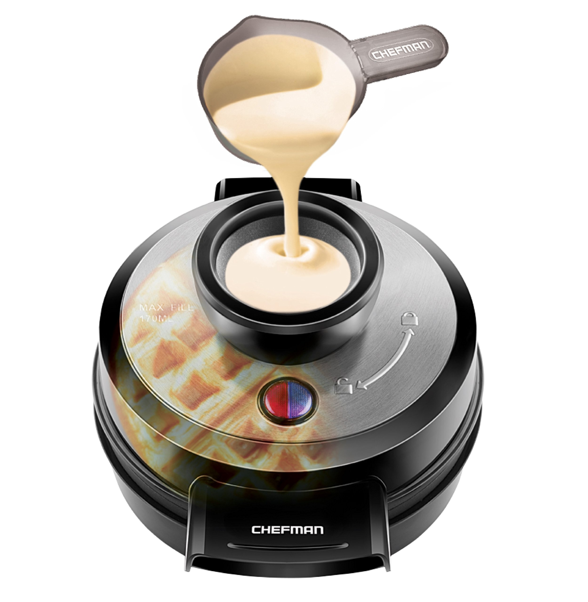 Mess Free 26040 Hamilton Beach Belgian Waffle Maker