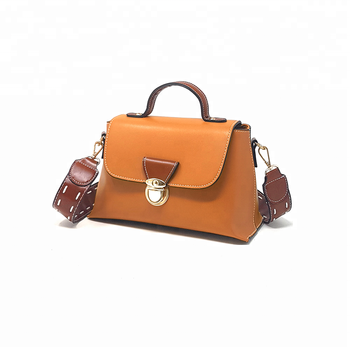Women Lady Leather Pocketbook Top Handle Purse Small Handbag