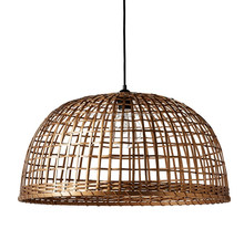 Home decor bamboo lamp shade / handmade wicker bamboo lamp cover