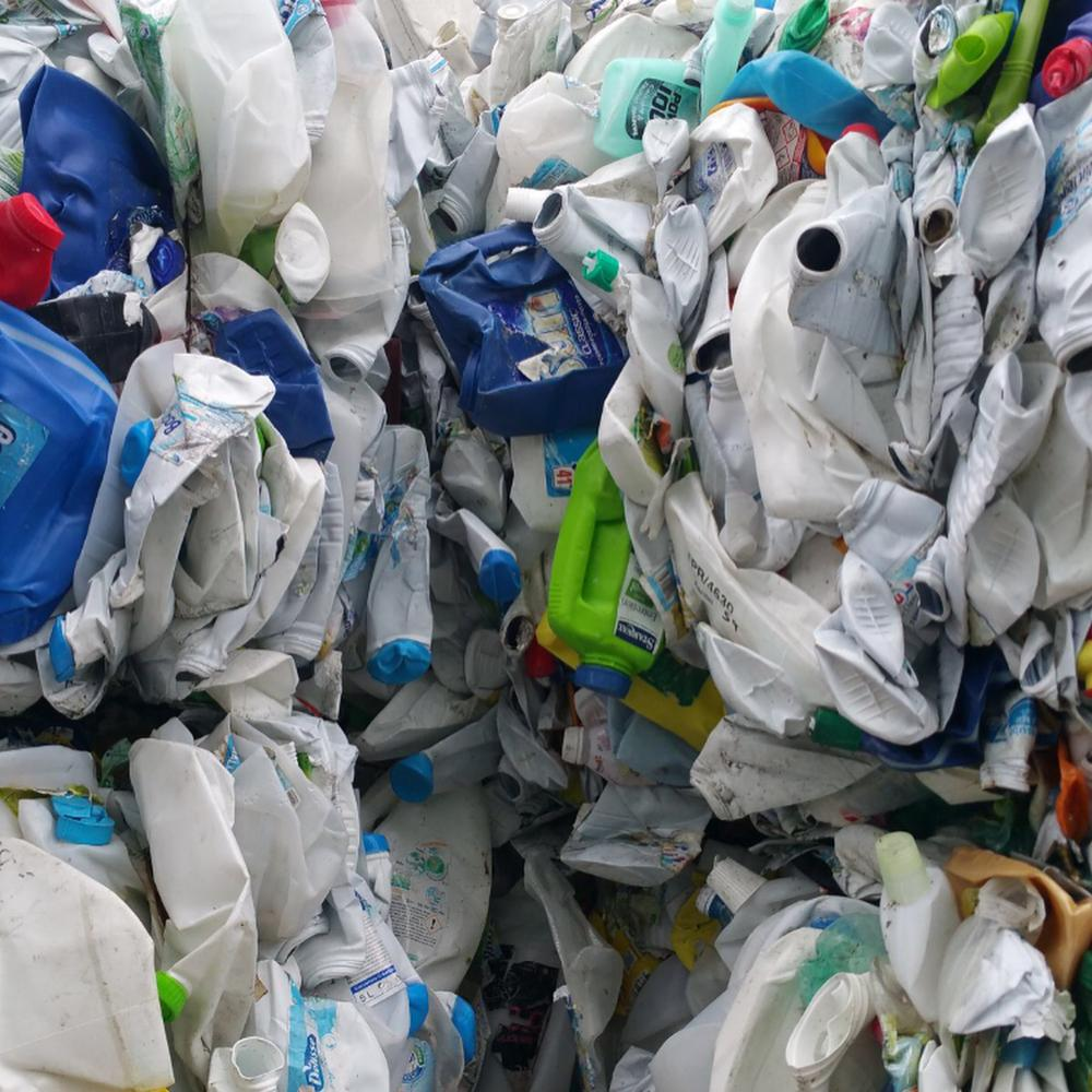 Clear Recycled Plastic Roll Bales LDPE, HDPE plastic Scrap