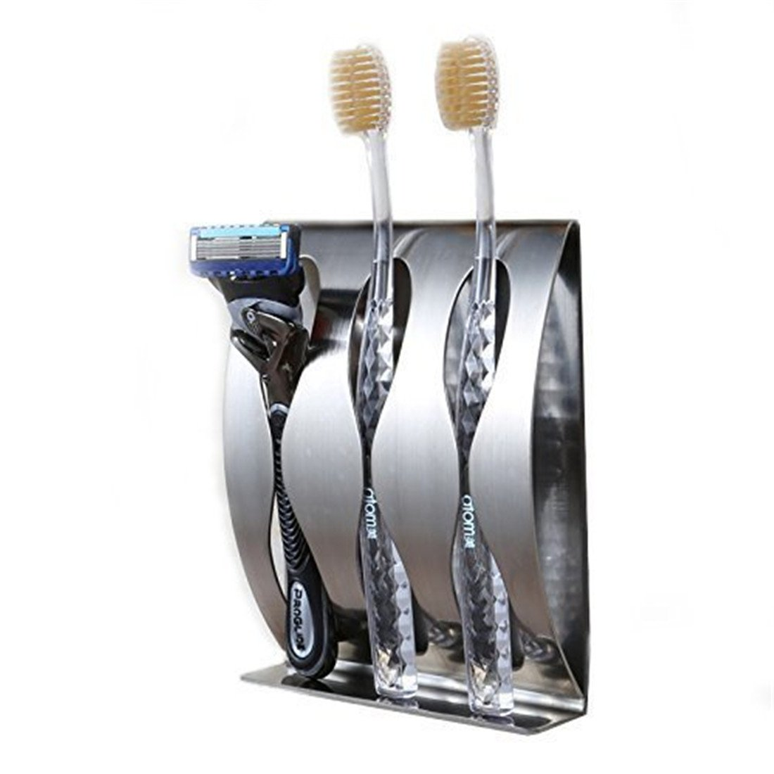 Buy Queens Toothbrush Holder Wall Mount Self Adhesive For