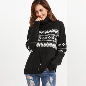 Top quality Bangladesh supplierOEM Acrylic wool ladies sweater