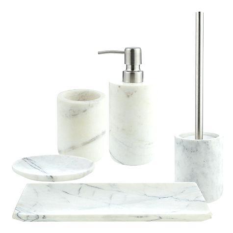 Bathroom Accessories Marble Bath Set