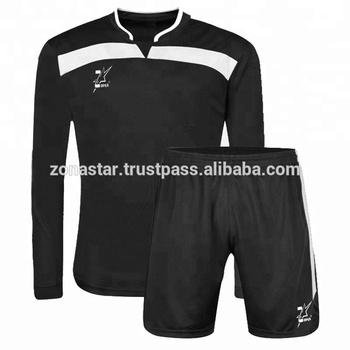 af1ca9951d697 Larga Mangas Personalizado Diseño Uniforme De Fútbol - Buy Uniforme ...