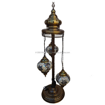 Turkish Mosaic Floor Lamp, Home Decor, Cafe, Restaurant, Coffee Shop