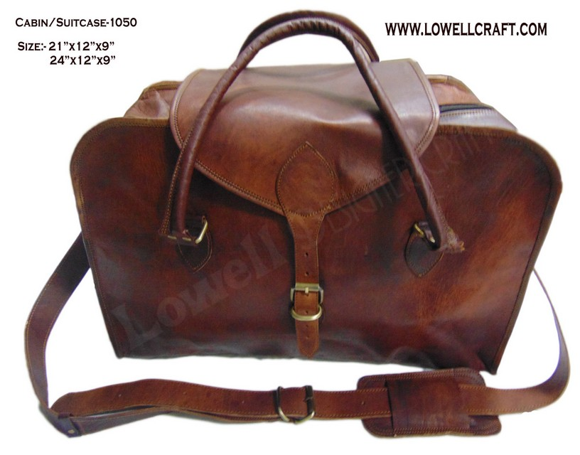 33184a2979 Bag Leather Carry Suitcase Luggage Travel Duffle Overnight Men Genuine Tote  Gym Black S Brown Case