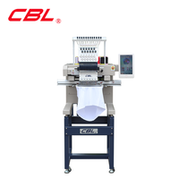 New design high speed Flat and hat funtion single head embroidery machine price
