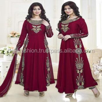 Modern Beautiful Wedding And Bridal Designer Full Length Anarkali