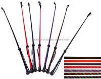 Outdoor equestrian leather horse whip riding crop handmade Top Quality ENGLISH SADDLE HORSE SADDLE RIDING CROP WHIP