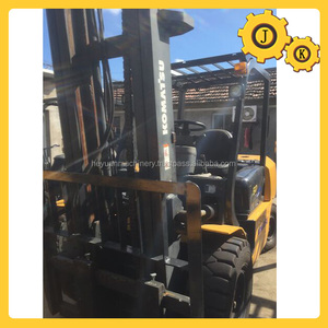 Used 5 ton Komatu forklift truck FD50 FD50-8 TCM Toyota Komatu forklift all models for sale