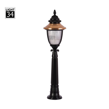 Copper Plating Cast Aluminum Landscape Lawn Light Outdoor Lighting Garden Lamp Product On Alibaba