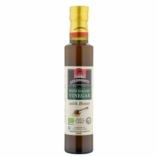 शहद के साथ GOURMANTE जैव सफेद <span class=keywords><strong>Balsamic</strong></span> <span class=keywords><strong>सिरका</strong></span> 250 ml