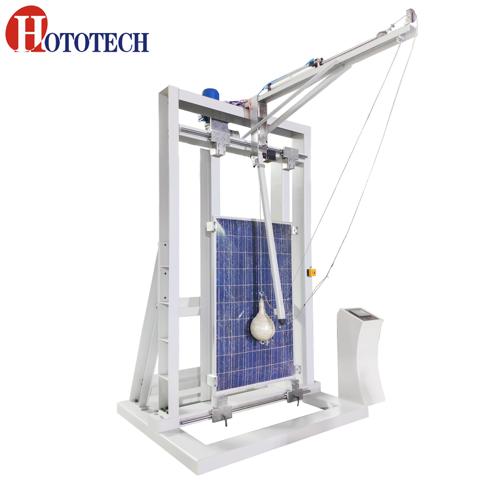 PV Module Shot Bag Impact Tester / Tempered glass Impact testing machine/ Tempered glass impact testing with IEC61730-2:2016