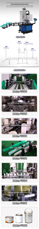 Yixin Tecnologia automatica può aggraffatrice di tenuta della macchina