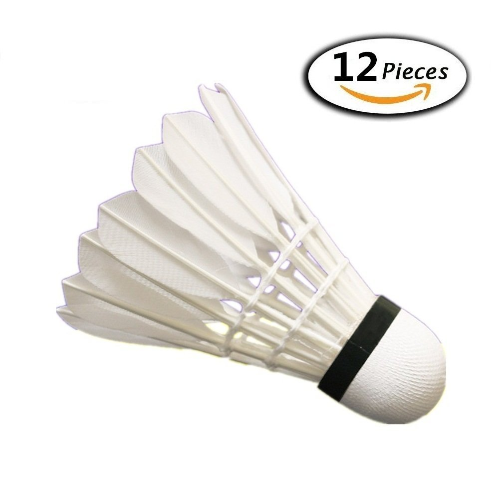 Bälle 3pcs New Game Sport Training White Duck Feather Shuttlecocks Badminton Ball Ar