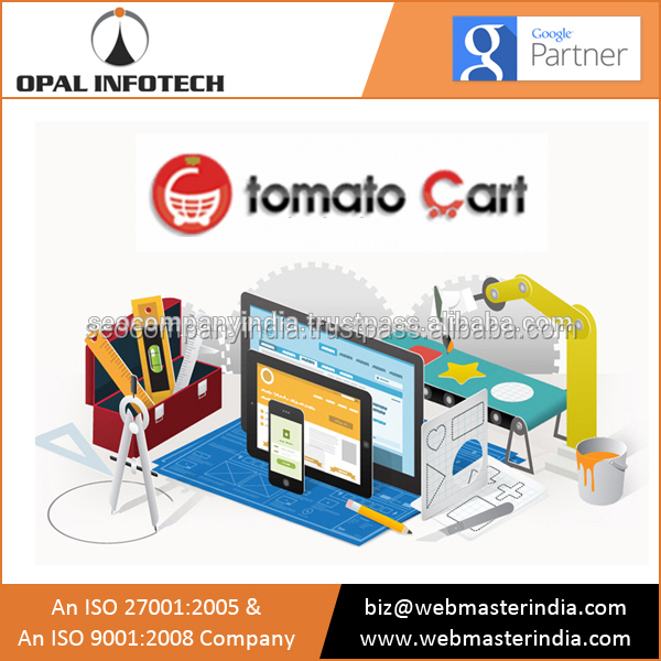 Opal Infotech Dedicated in Providing Tomato Cart Ecommerce Solutions