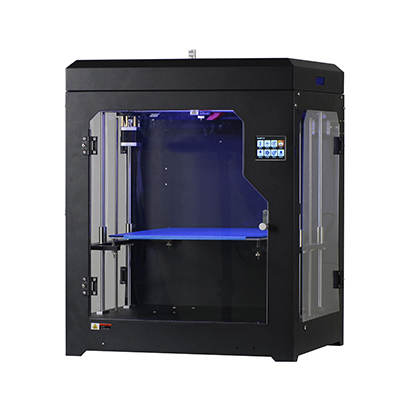 GenBotter 2017 Close printing environment touch screen large 3D printer 300x300x400mm with power off resume