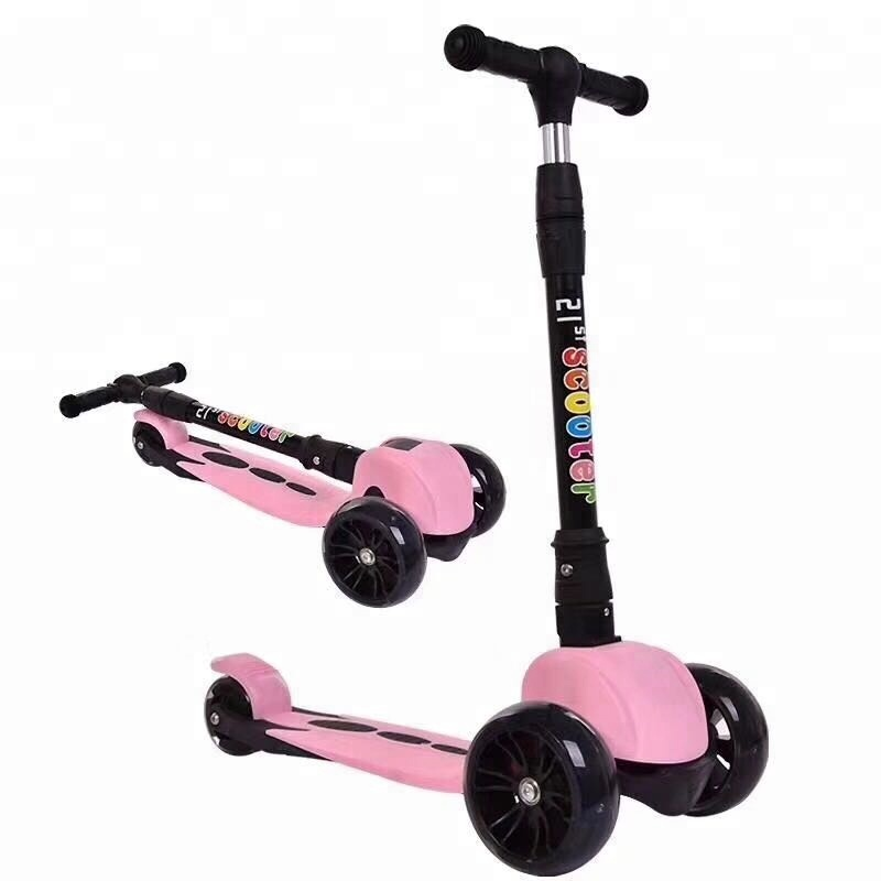 flash wheels Kick scooter, 2017 new design Kids scooter