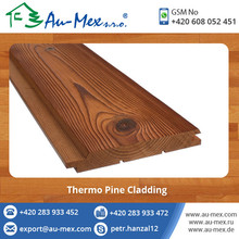 Solid Thermo Pine Cladding Wood Board for Bulk
