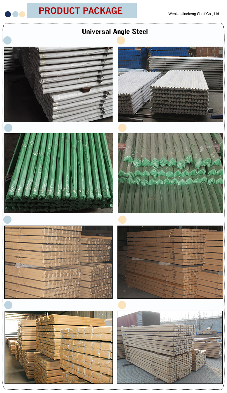 Low Price Colorful Mild Galvanized Universal Angle Steel