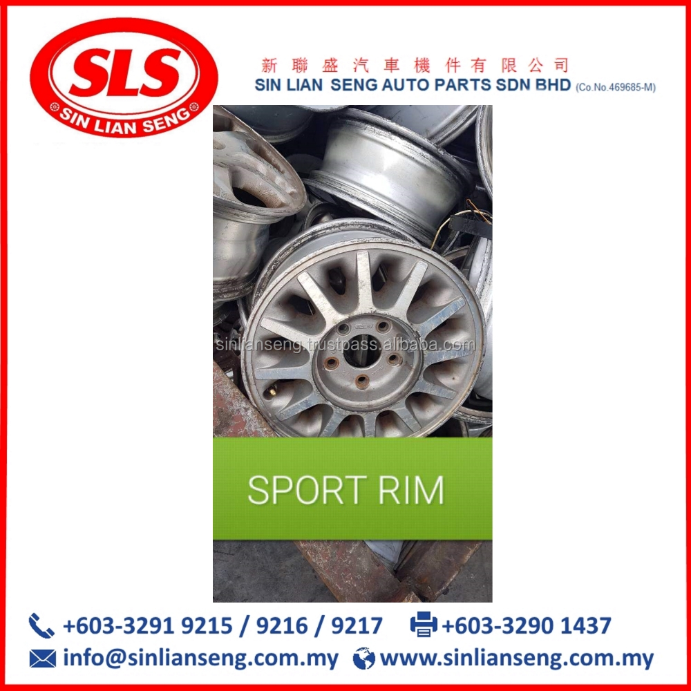 SCRAP Aluminium Alloy SPORT RIMS/Wheel For Sale