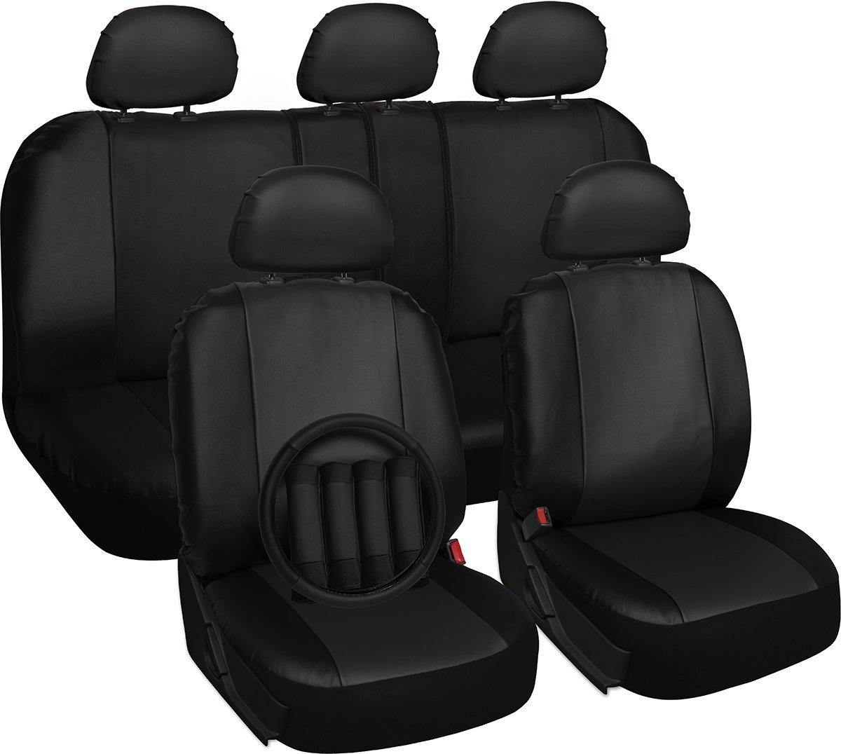 Front Low Back Car Truck SUV Bucket Seat Covers