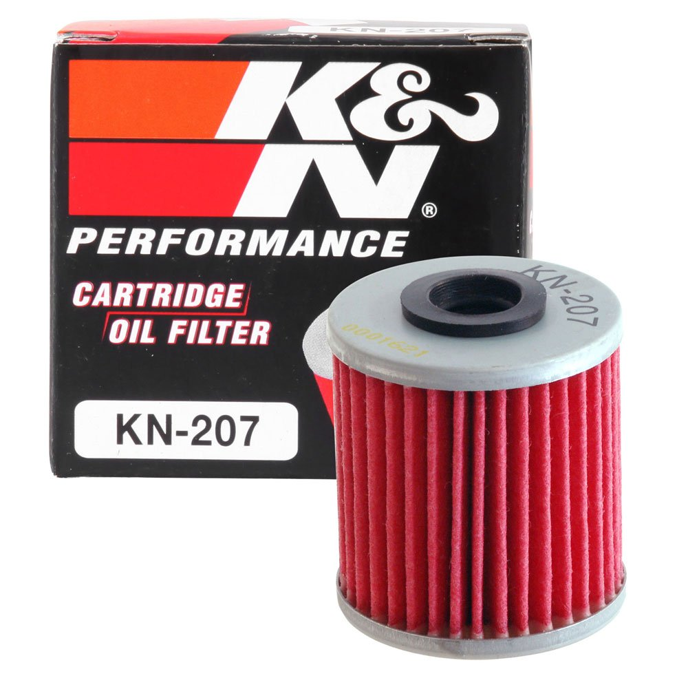 K&N KN-207 Motorcycle/Powersports High Performance Oil Filter