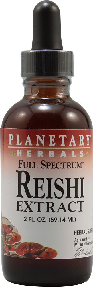 Planetary Herbals Full Spectrum Reishi Extract Supplement, 2 Fluid Ounce
