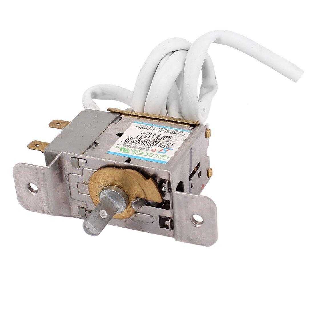 uxcell AC 125/250V 8A/6A Freezer Refrigerator Refrigeration Cooler Temperature Controller
