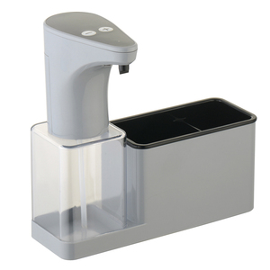 new design kitchen sink organizer storage with lotion liquid soap dispenser