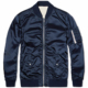 Satin Jacket for mens/High Quality Nylon spring Coats with Art Zip/100% Polyester Satin Varsity Jackets