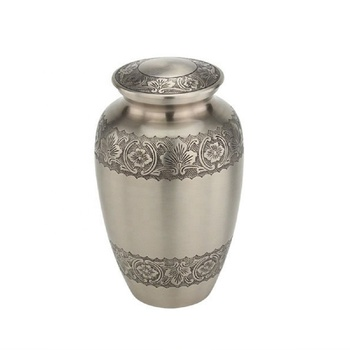 Decorative jars and urns with color finish