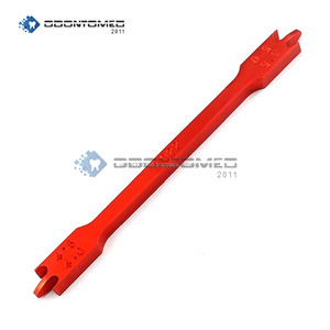 Anodized Red Ortho Bracket Height Gauge Bracket Positioner ODM