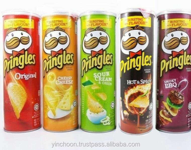 Pringles potato chips