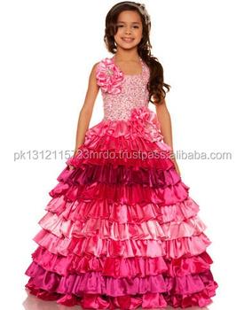 Mengagumkan Dirancang Gaun Gaun Pesta Bayi Gadis Gaun Anak Perempuan