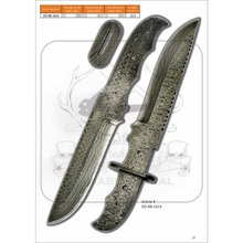 Damascus Staal Blade <span class=keywords><strong>Blanks</strong></span> DD-BB-1614