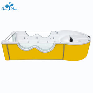 China Supplier acrylic freestanding massage function baby spa pool