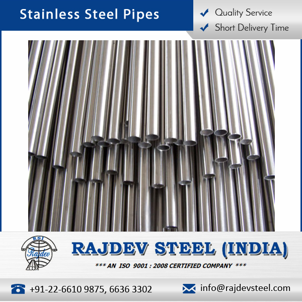 Affordable Cost Sturdy Finish Stainless Steel Pipe for Wholesale Buyer