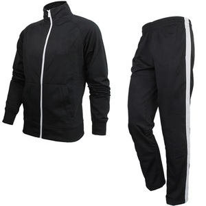 Custom blank 100% Polyester jogging tracksuit wholesale jogger track suit for Mens TRAINER TRACKSUITS