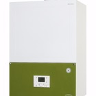 Wall mounted condensing gas boiler for heating system whit CE 50 kW