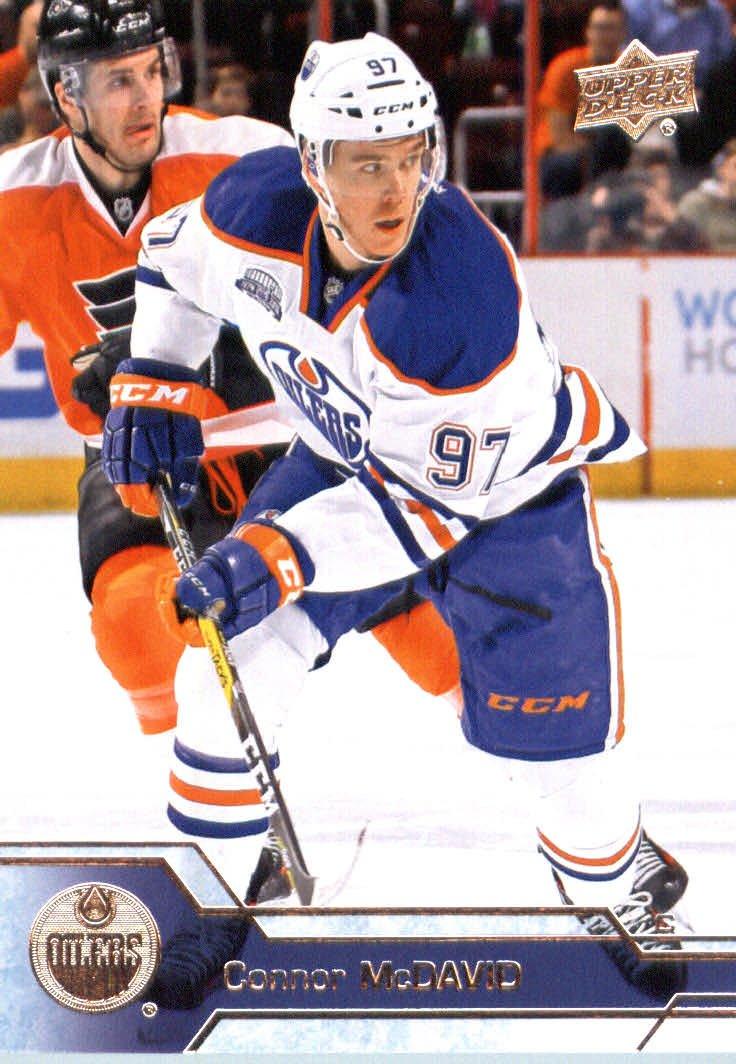 2016-17 Upper Deck Series 1 #75 Connor McDavid Edmonton Oilers Hockey Card-MINT