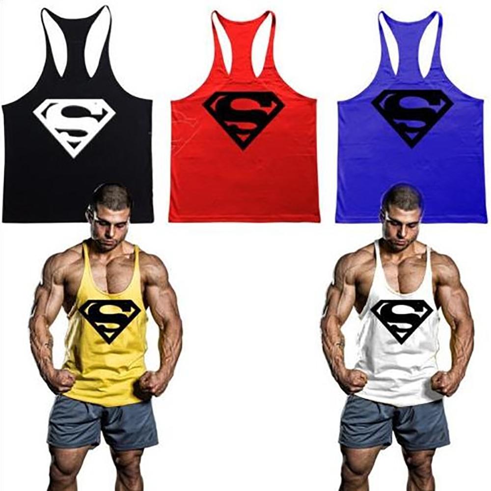 bf5cab515ba78 Gym Tank Top Men Bodybuilding Stringer Tank Tops Fitness Singlet Sleeveless  Shirt Workout Clothing - Buy High Quality Custom Gym Stringer Vest