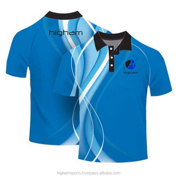 Wholesale dri fit polo shirt custom made sublimated polo for Custom dri fit t shirts