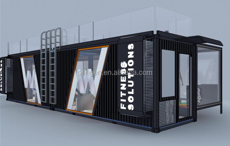 Movable Container House Container Gym Container Store
